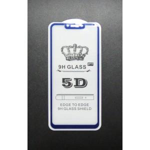 Стекло Huawei P smart+ 5D (blue)