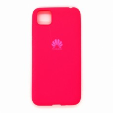 Silicone Case copy Huawei Y5P (pink)