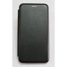 Чехол-книжка ориг кожа Huawei Y5 2018 (black)