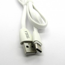 Data Cable Tesla Type-C (white)