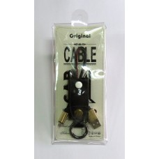 Data Cable кожа Original micro-USB (black)