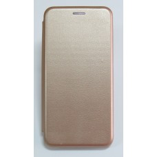 Чехол-книжка ориг кожа Huawei Y6 Prime 2018 (rose-gold)