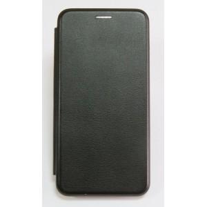 Чехол-книжка ориг кожа Huawei Y6 Prime 2018 (black)