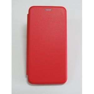 Чехол-книжка ориг кожа Huawei Y6 Prime 2018 (red)
