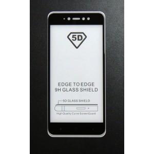 Стекло Xiaomi Redmi Y1 5D (black)