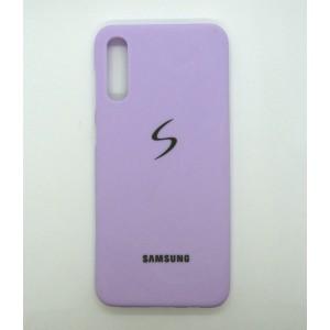 Silicone Case copy Samsung A50 (violet)