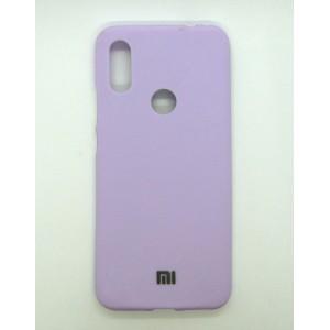 Silicone Case copy Xiaomi Redmi 7 (violet)
