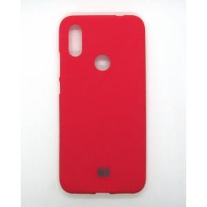 Silicone Case copy Xiaomi Redmi 7 (red)
