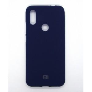 Silicone Case copy Xiaomi Redmi 7 (dark-blue)