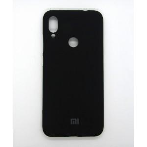 Silicone Case copy Xiaomi Redmi Note 7 (black)