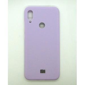 Silicone Case copy Xiaomi Redmi Note 7 (violet)