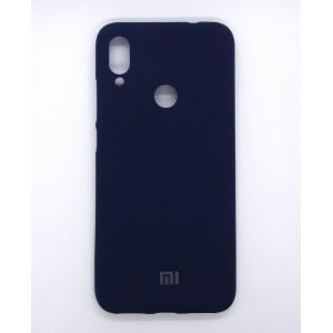 Silicone Case copy Xiaomi Redmi Note 7 (dark-blue)