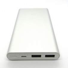 Power Bank Xiaomi Mi2 10000mA (silver)