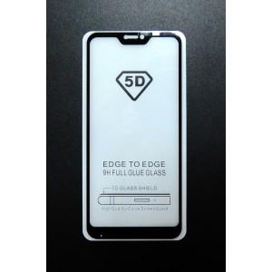 Стекло Xiaomi Redmi 6 PRO 5D (black)