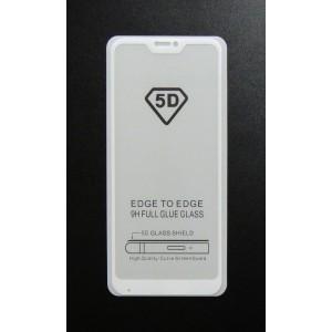 Стекло Xiaomi Redmi 6 PRO 5D (white)