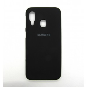 Silicone Case copy Samsung A40 (black)