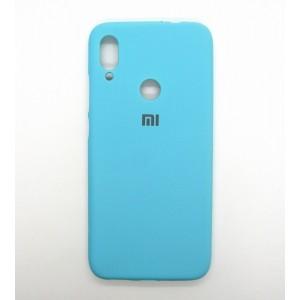 Silicone Case copy Xiaomi Redmi Note 7 (blue)