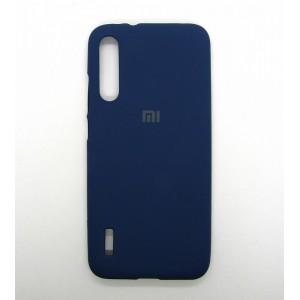Silicone Case copy Xiaomi Mi A3 (dark-blue)