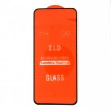 Стекло Samsung A21 21D (black)