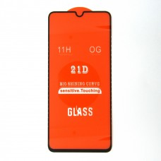 Стекло Xiaomi Redmi 9 21D (black)