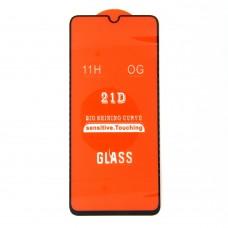 Стекло Xiaomi Redmi 9A 21D (black)