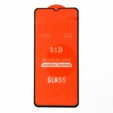 Стекло Samsung A20S 21D (black)