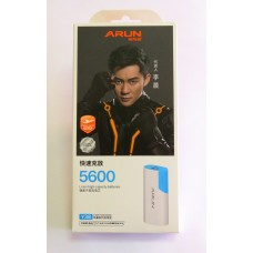 Power Bank Arun Y 38 (5600 mA) (blue)