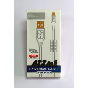 Data Cable micro-USB с фильтром