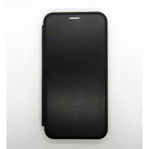 Чехол-книжка ориг кожа Samsung A10 (black)