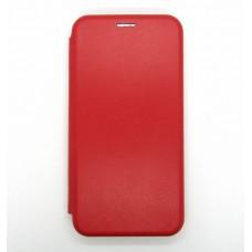 Чехол-книжка ориг кожа Samsung A10 (red)