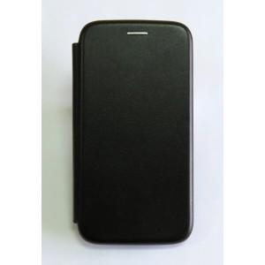 Чехол-книжка ориг кожа Samsung A20/A205 (black)