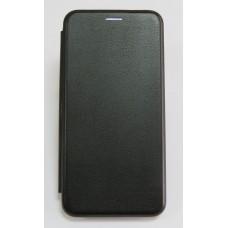 Чехол-книжка ориг кожа Huawei Y6 2018 (black)