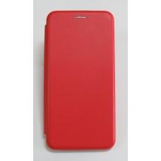 Чехол-книжка ориг кожа Huawei Y6 2018 (red)