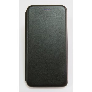 Чехол-книжка ориг кожа Xiaomi Redmi Note 5 PRO (black)