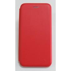 Чехол-книжка ориг кожа Xiaomi Redmi Note 5 PRO (red)