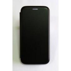 Чехол-книжка ориг кожа Xiaomi Redmi 4X (black)