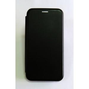 Чехол-книжка ориг кожа Xiaomi Redmi Note 4X (black)