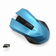 Мышка беспроводная Wireless с доп кноп (blue)