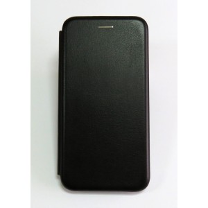 Чехол-книжка ориг кожа Xiaomi Redmi Note 6 PRO (black)