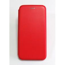 Чехол-книжка ориг кожа Xiaomi Redmi Note 6 PRO (red)