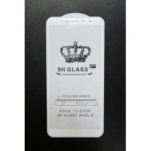 Стекло Xiaomi Redmi S2 5D (white)