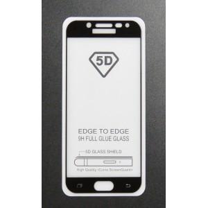 Стекло Samsung J5 PRO/J530 2018 5D (black)