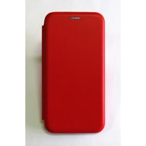 Чехол-книжка ориг кожа Xiaomi Redmi 5A (red)