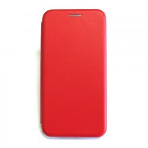 Чехол-книжка ориг кожа Samsung J310 (red)