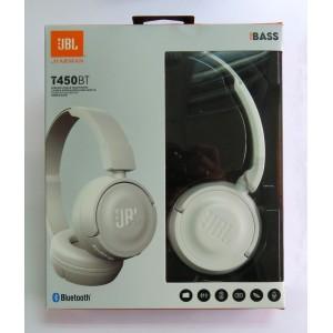 Hands Free JBL WIRELESS T450BT (white)