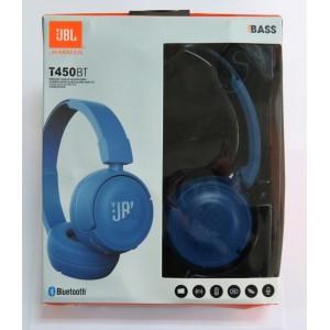 Hands Free JBL WIRELESS T450BT (blue)
