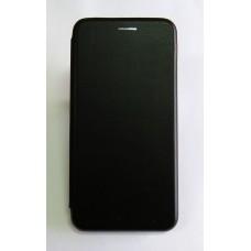 Чехол-книжка ориг кожа Xiaomi Redmi 6 PRO (black)