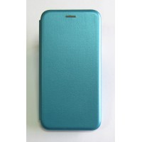Чехол-книжка ориг кожа Huawei P Smart Plus (blue)