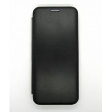 Чехол-книжка ориг кожа Xiaomi Mi 9 Lite (black)