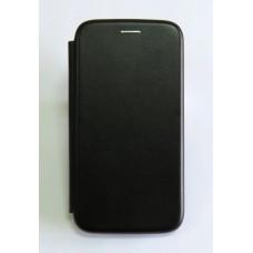 Чехол-книжка ориг кожа Huawei Y6 2019 (black)